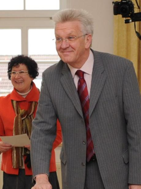 winfried kretschmann daheim