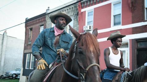 Idris Alba & Caleb McLaughlin in Concrete Cowboy recensie op Netflix België