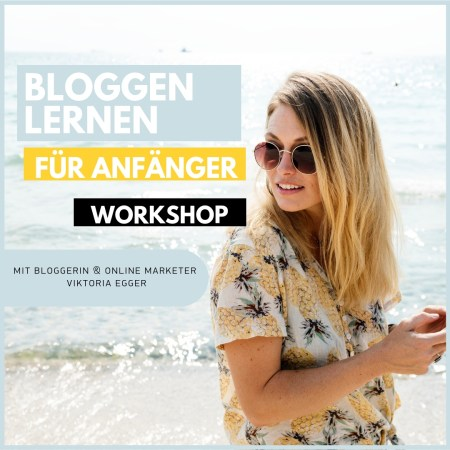 Bloggen Anfänger Workshop 2019