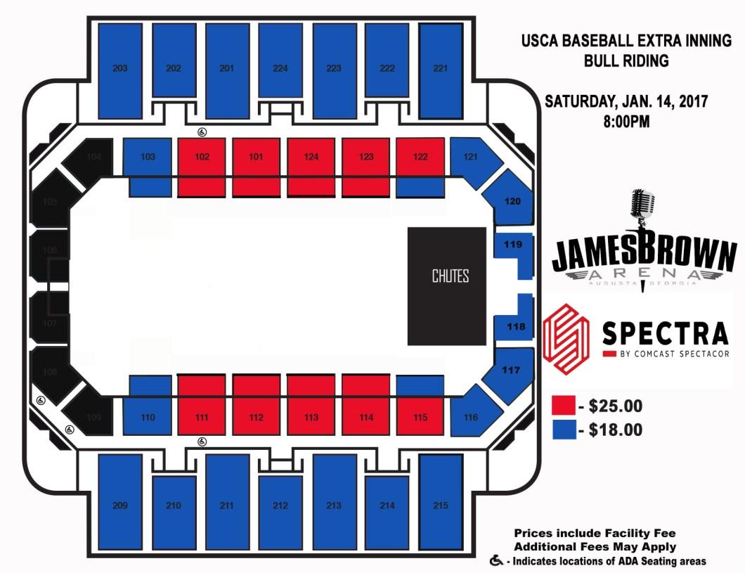 James Brown Arena Seating Chart Wallseatco