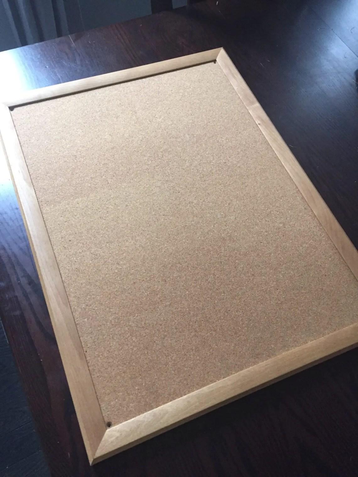 DIY Projects - Cork Board