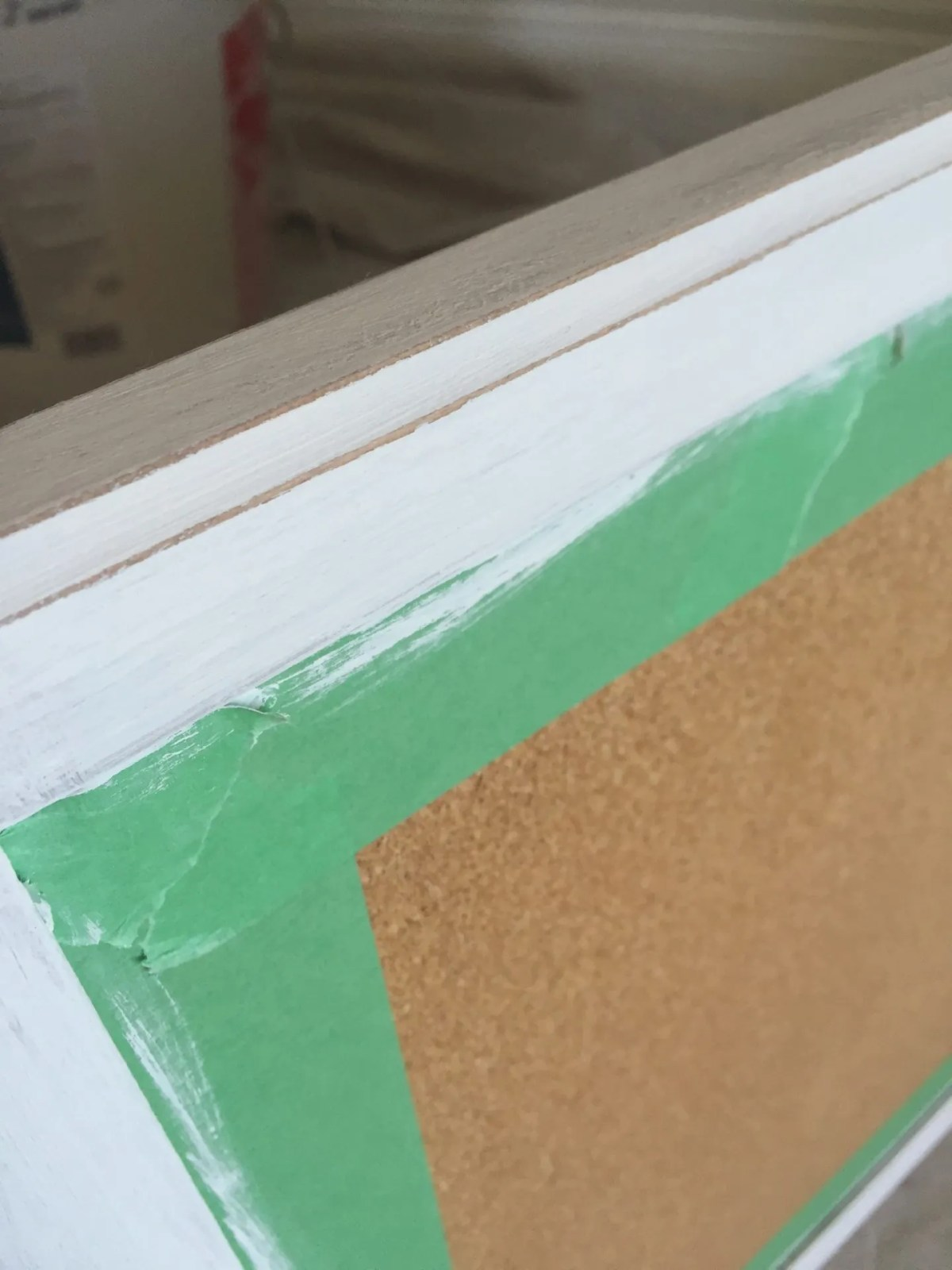 Painting Cork with Annie Sloan Chalk Paint