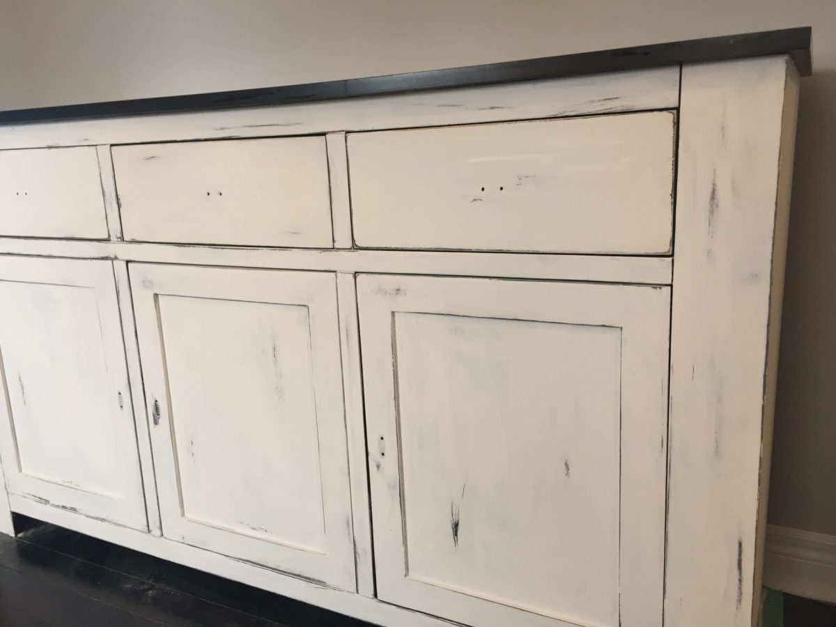 Annie Sloan Chalk Paint - Refinished Dining Room Buffet