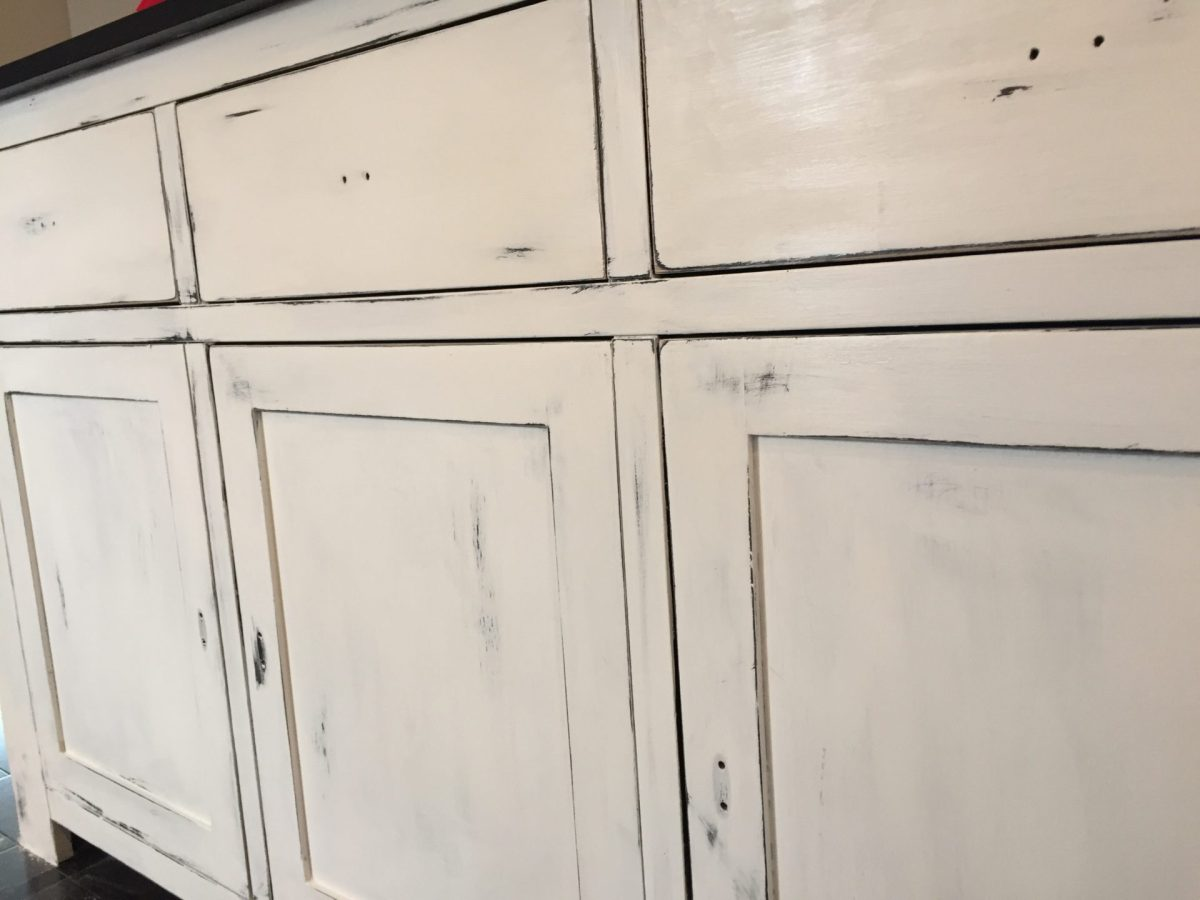 Refinished Dining Room Buffet