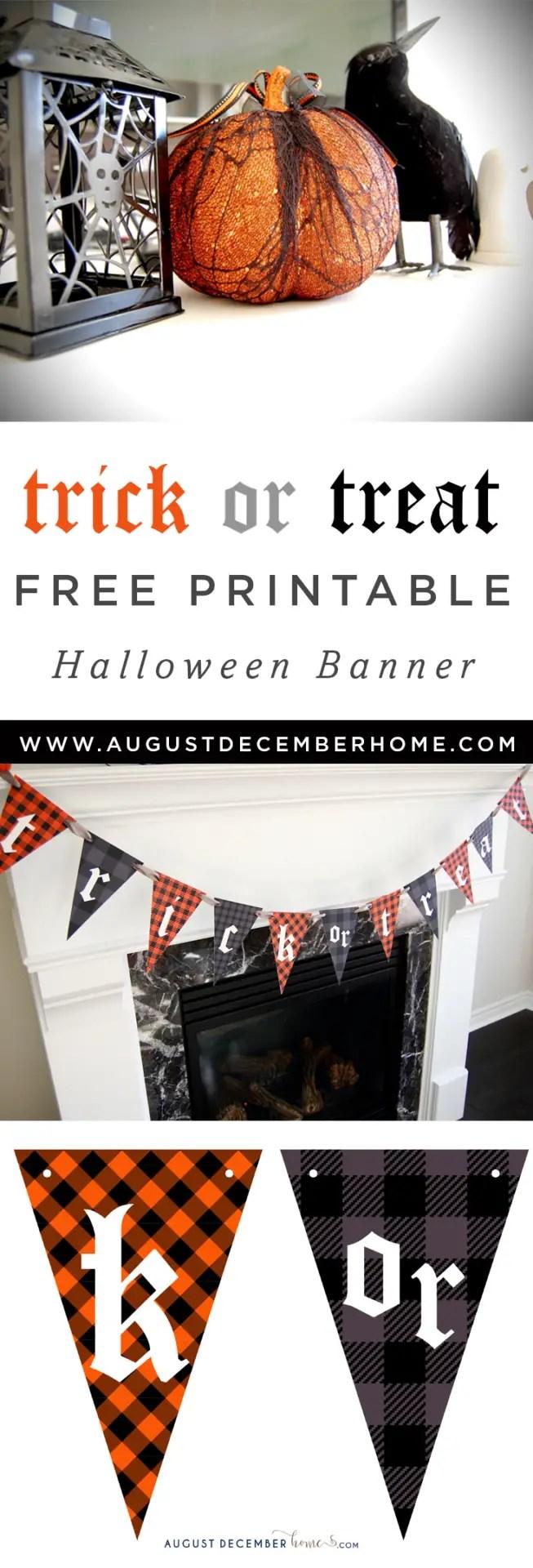 Printable Halloween Decor