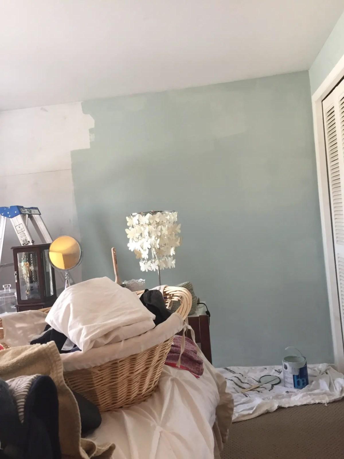 Painting Bedroom Benjamin Moore Woodlawn Blue