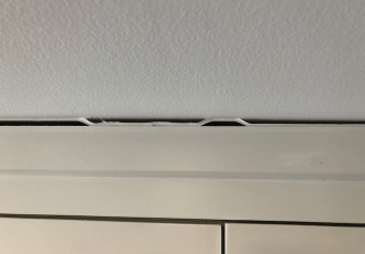 gaps in crown molding