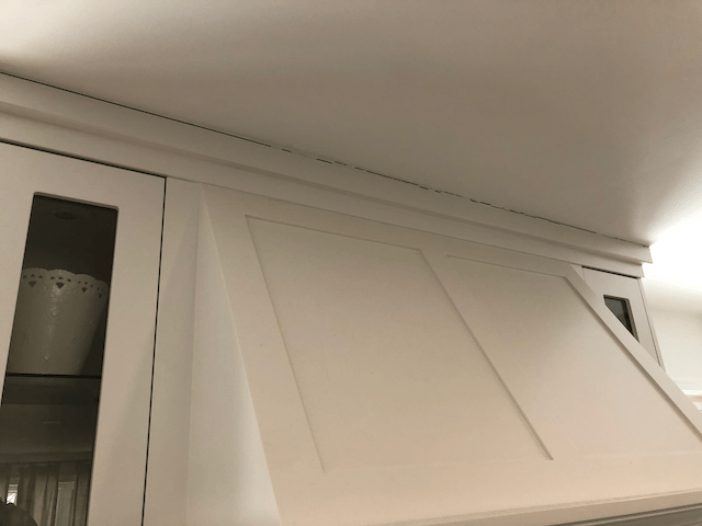 caulking before and after