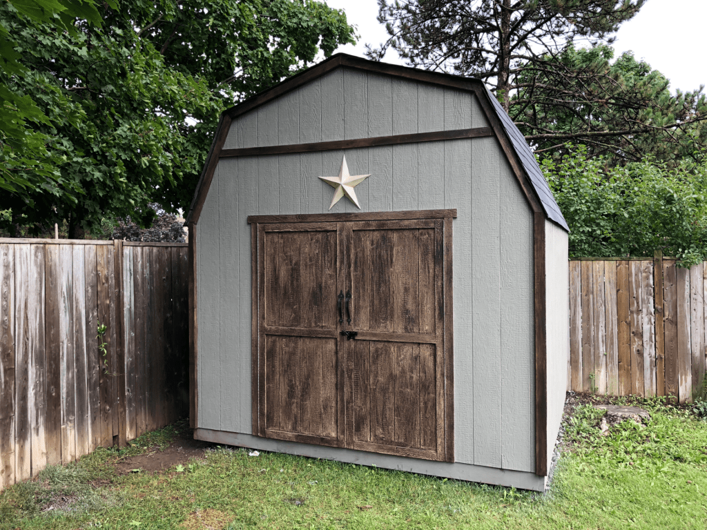 10 by 10 barn shed