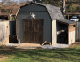 Beautiful Barn Shed with Carport