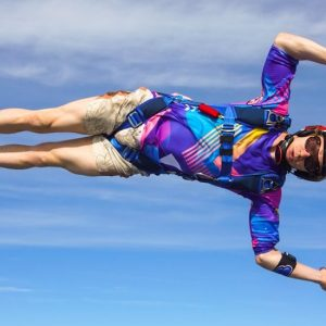 Skydiving jersey sun protection