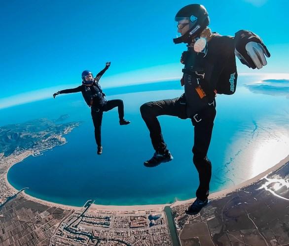 Head Up Skydiving over Skydive Empuriabrava