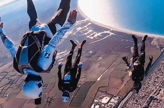 Skydiving Angle Tracking