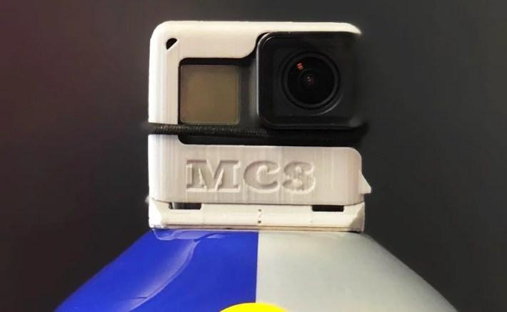 Modern Camera Solution for skydiving GoPro