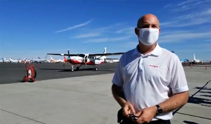 Roei Ganzarski and the first electric airplane for skydiving carbon free