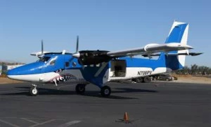 Top airplane to skydive from