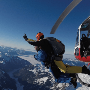 helicopter skydive