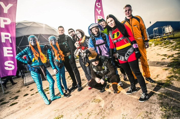 Skydive year end party