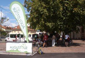 2. Etappe Augustour 2014: Rast Eppan