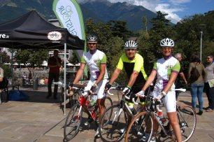 2. Etappe Augustour 2014: Rennradfahrer