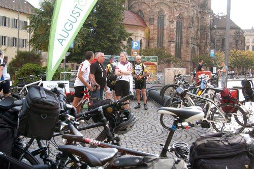 2. Etappe Augustour 2014: Ziel in Bozen