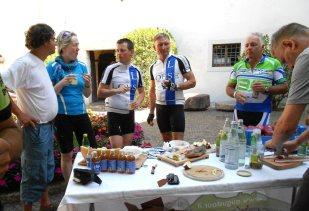 3. Etappe Augustour 2014: Jause