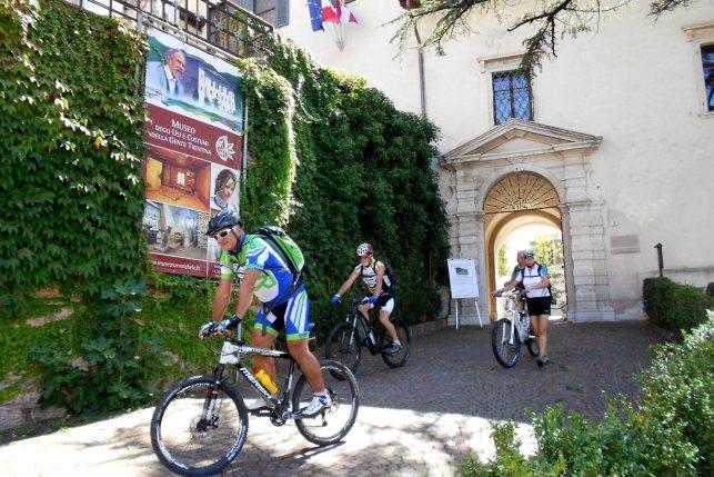 3. Etappe Augustour 2014: Rast San Michele