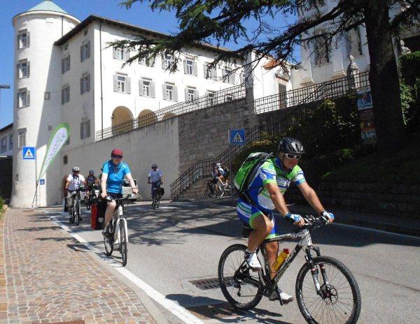 3. Etappe Augustour 2014: Start San Michele