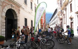 3. Etappe Augustour 2014: Ziel Trient