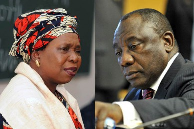 Dlamini-Zuma-Ramaphosa :  Les dessous d'un duel crucial