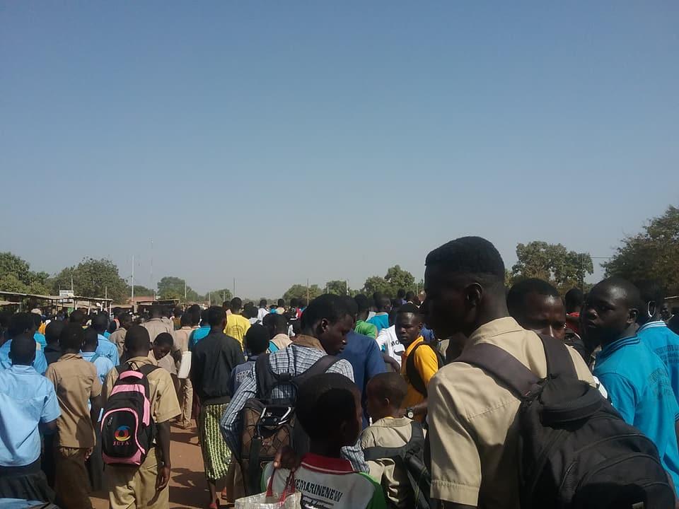 Dissolution du conseil municipal de Saponé: les élèves s'en mêlent et entrent en résistance