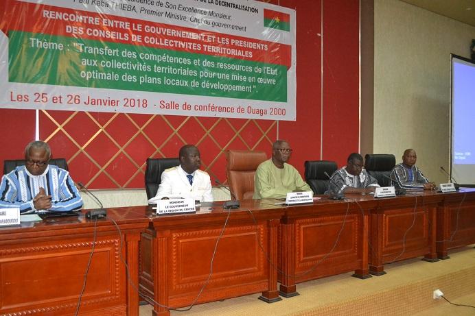 Gouvernement- collectivités territoriales : Transfert des compétences et ressources de l'Etat en débat