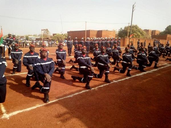 Sortie de la 15e promotion de l'Ecole nationale des sapeurs-pompiers:  99 soldats prêts à sauver des vies en détresse