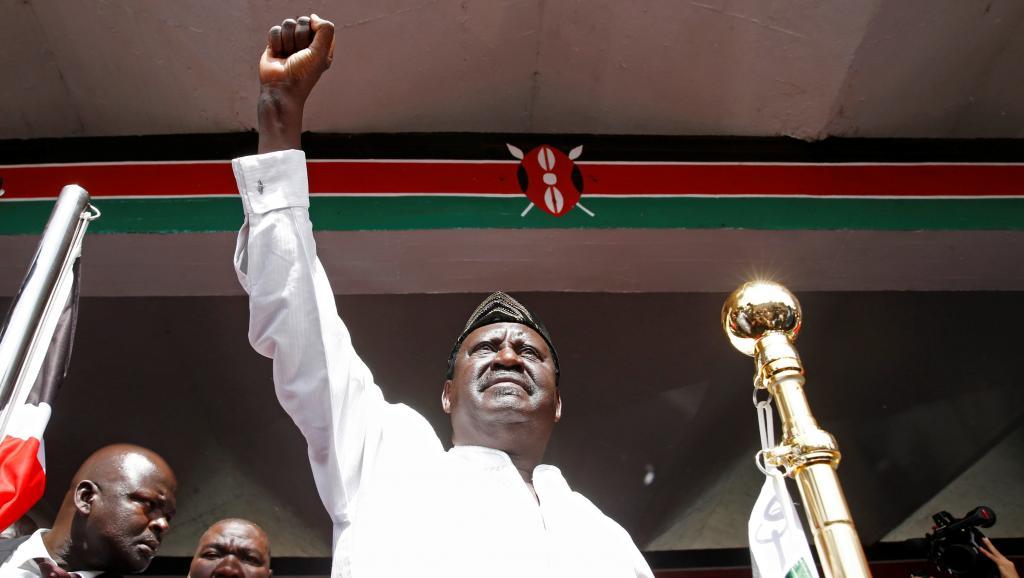 Prestation de serment d'Odinga au Kenya : Ultime lubie d'un opposant transi et sénile?