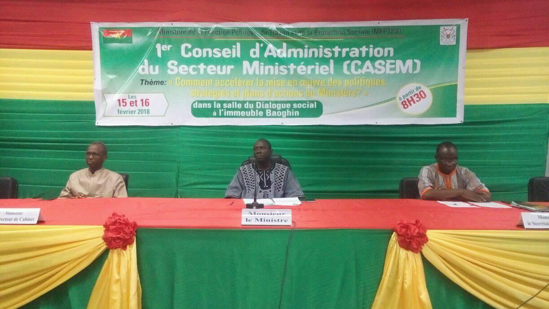 1er CASEM du Ministère de la fonction publique : Modernisation de l'administration au menu
