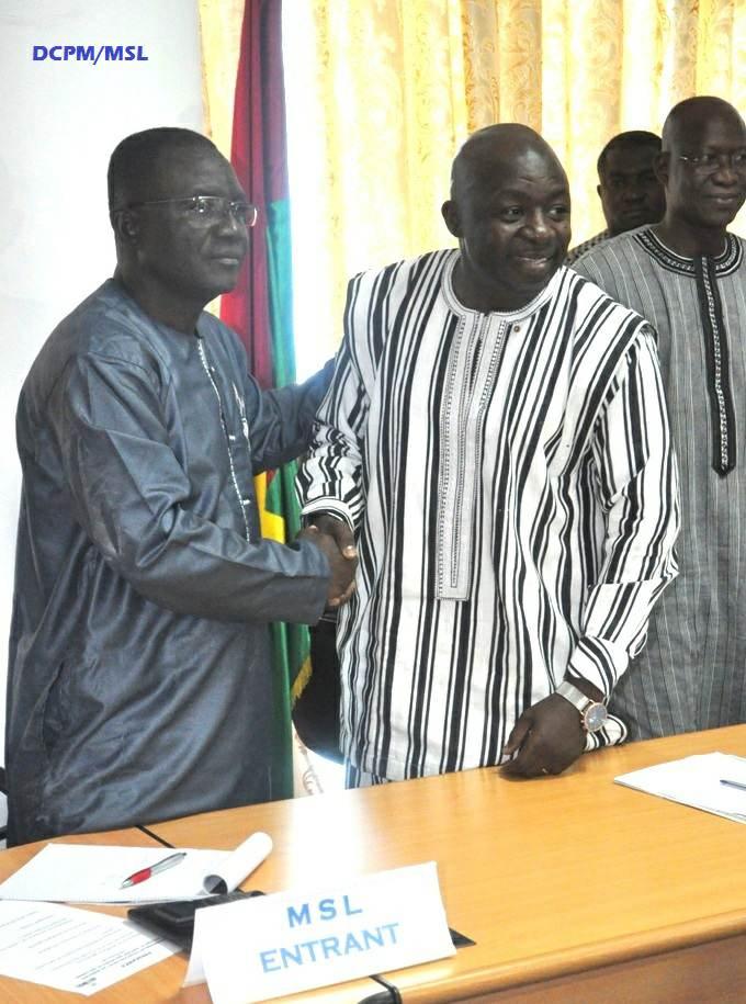 Installation du ministre des sports et des loisirs :  Le nouveau ministre Daouda Azoupiou «prêt à travailler» pour relever le défi