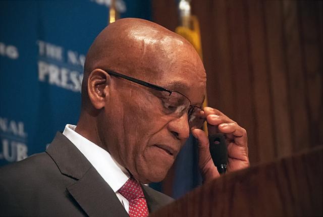 Probable démission de Zuma : L'opposition pousse à la roue