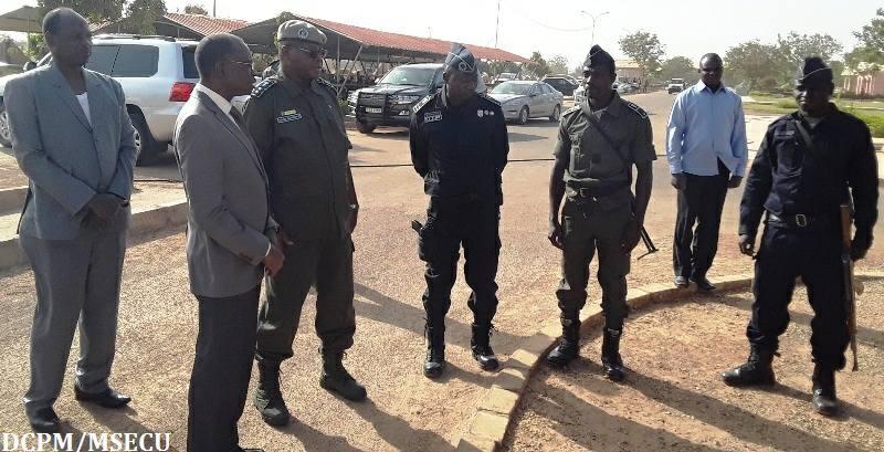 Ministère de la sécurité: Clément P. Sawadogo au chevet des blessés de Natiaboani