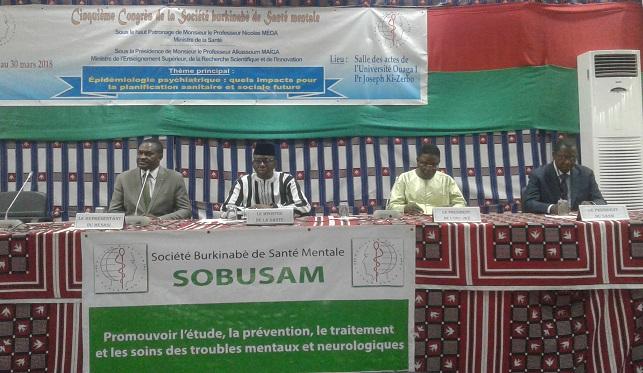 Santé mentale au Burkina :  La SOBUSAM tient son 5e congrès