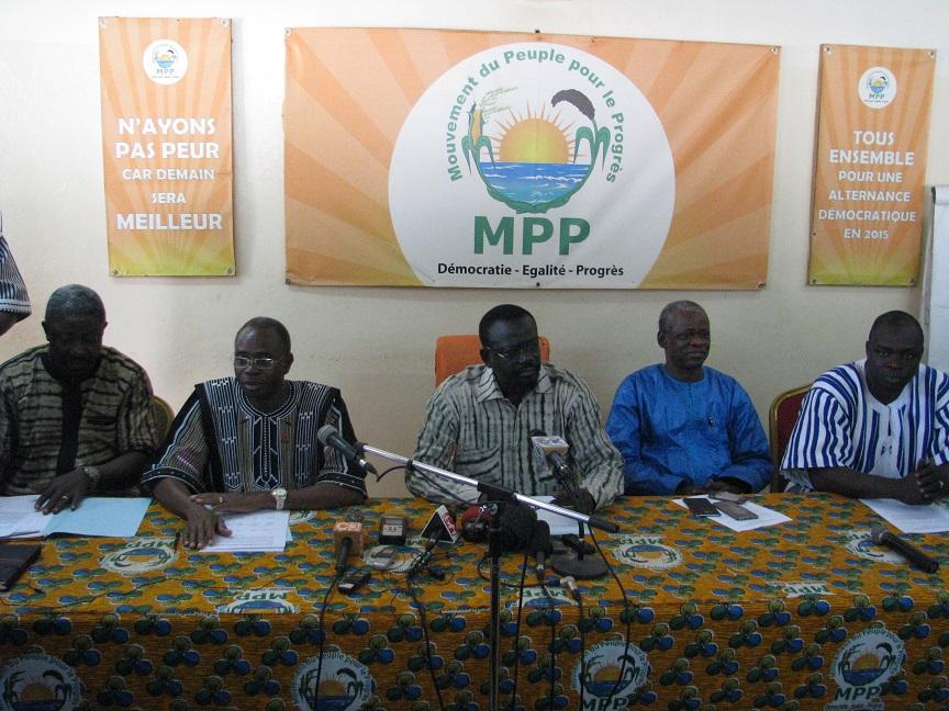 Alliance des partis de la majorité présidentielle :  Sept nouveaux adhérents font chorus derrière Roch