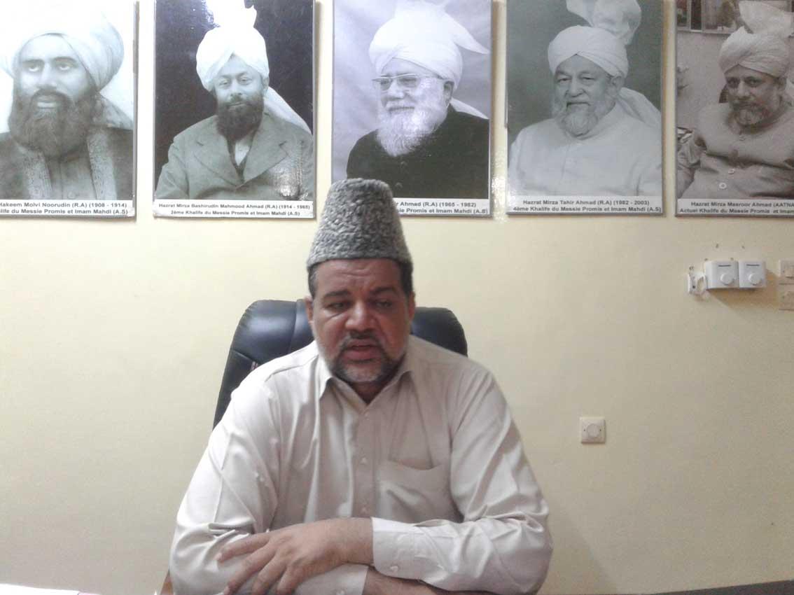 Carême musulman :  «Le malade qui jeûne désobéit à Allah et il n'aime pas ça» Amir Mahmood Nasir Saqib