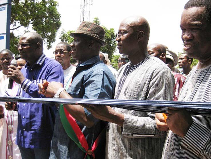 Voirie urbaine de Bobo-Dioulasso : La première tranche des travaux inaugurée