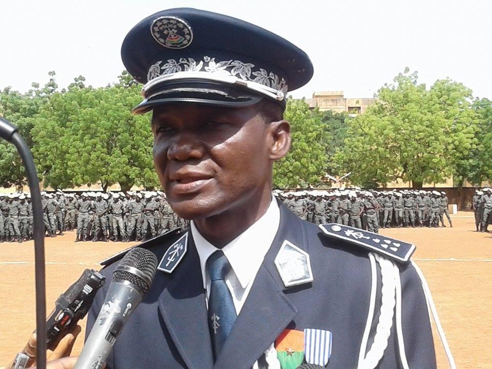 Ecole nationale de police: Désormais commandée par Sié Tiefi Dabiré