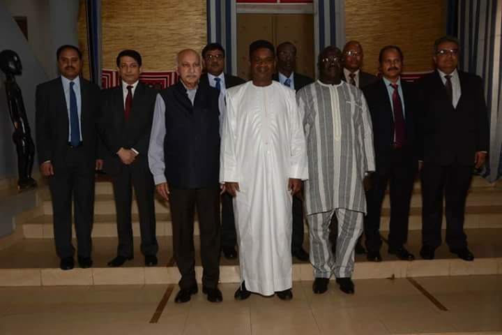 Diplomatie: Burkinabè et Indiens renforcent leur lien
