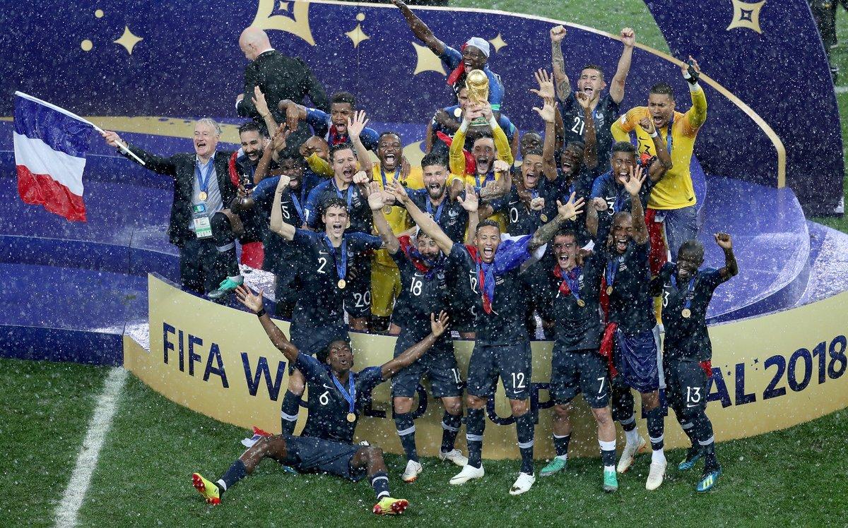 Finale coupe du monde Russie 2018: Flamboyante Croatie, FORMIDA-BLEU France !