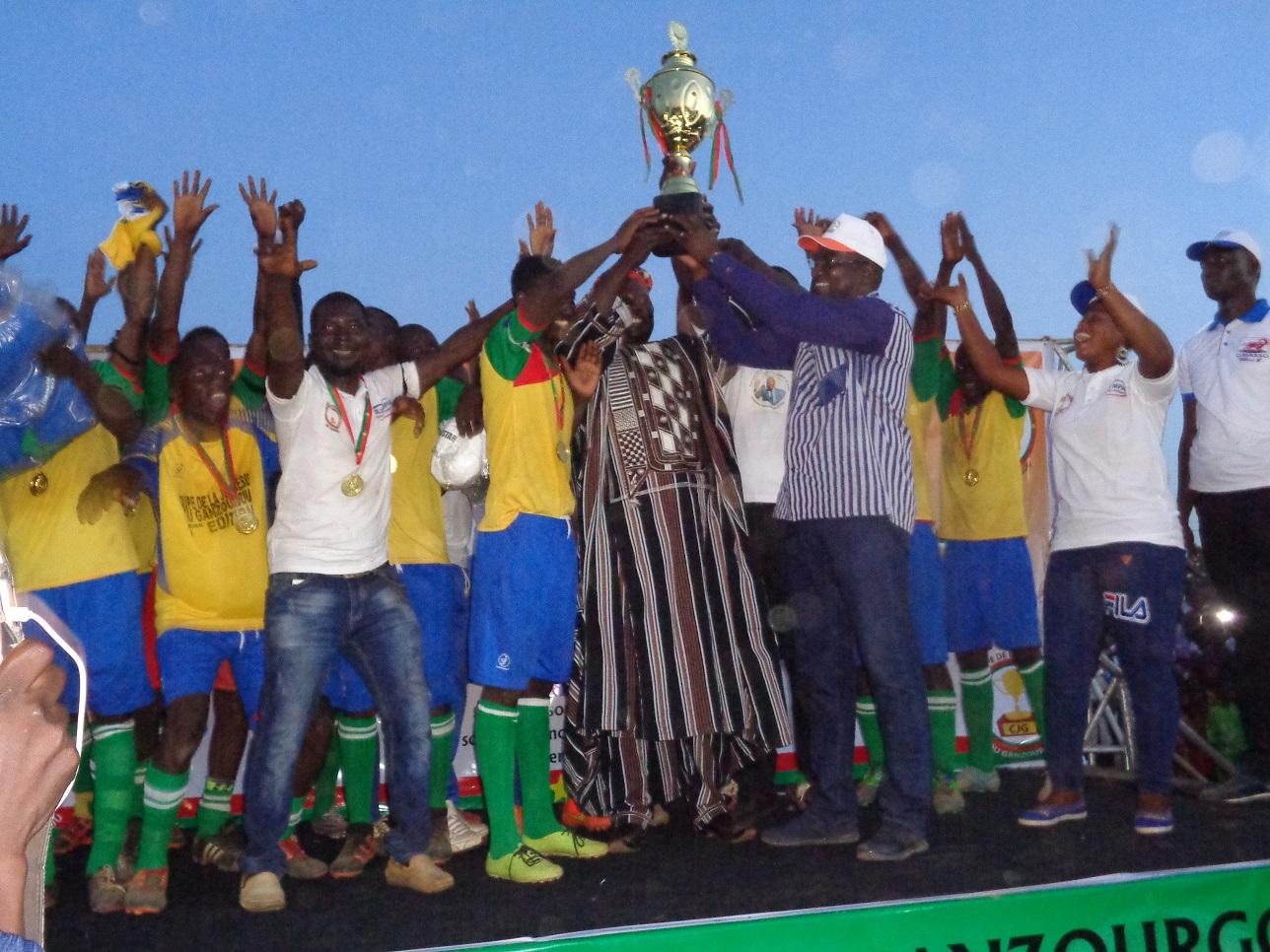 Coupe de la jeunesse du Ganzourgou: Mogtédo vainqueur de la 1ère édition
