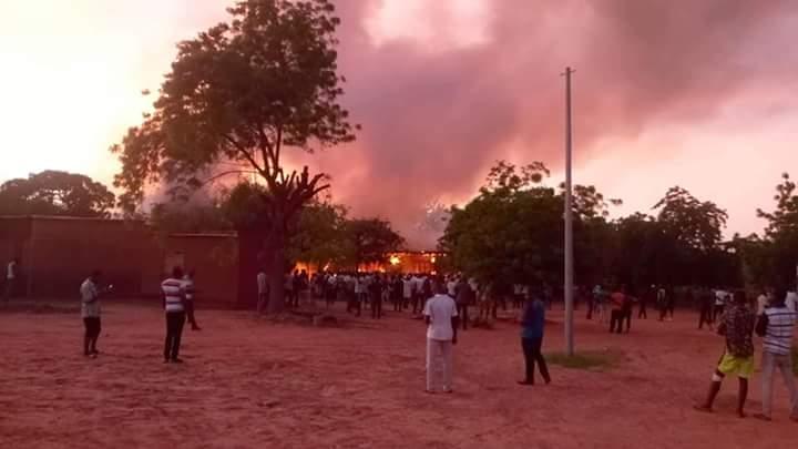 Kongoussi : d'énormes dégâts dans  l'incendie du CMA