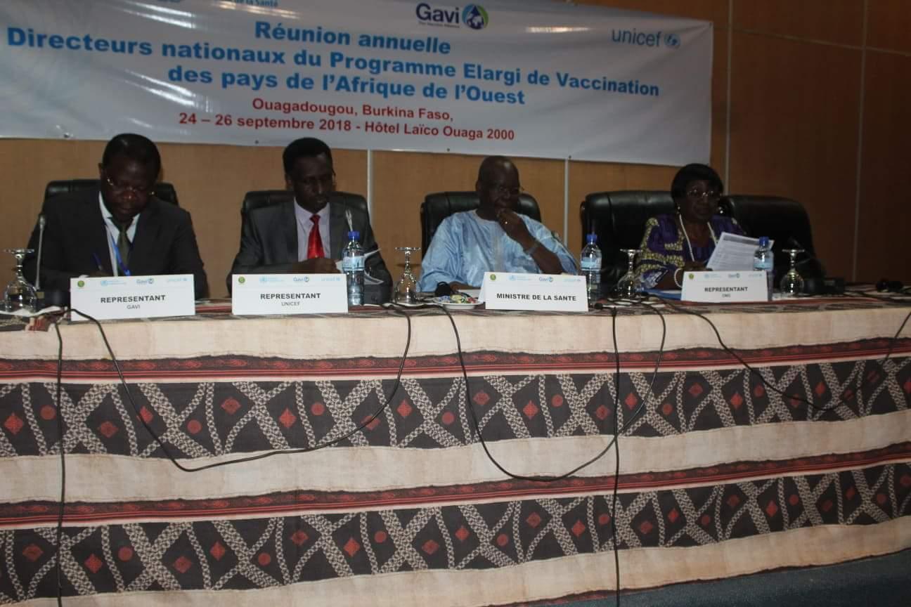 Programme élargi de vaccination: Les directeurs nationaux se concertent à Ouagadougou