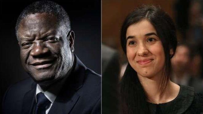 Dr Dénis Mukwege et l'activiste Nadia Murad nobélisés de la Paix 2018: Un désavœu des crimes sexuels de guerre des mater dolorosa