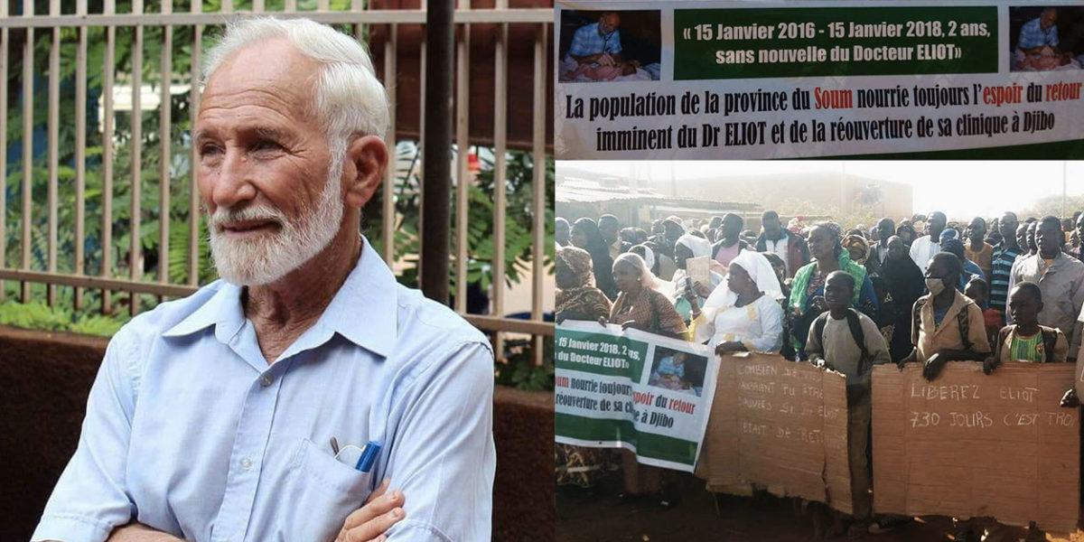 Burkina Faso: après 1000 jours de captivité du Dr Eliott, sa famille envoie un message à ses ravisseurs